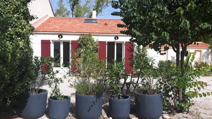 Maison indépendante à 10min d'Aix en Provence
