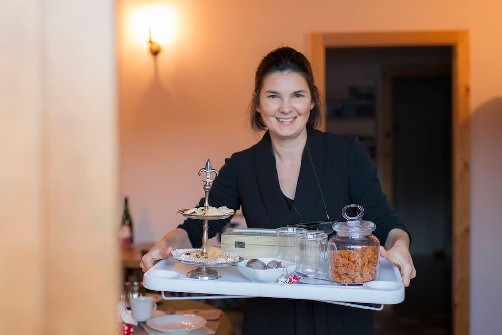 Le colazioni abbondanti e l'ospitalità di Fernanda