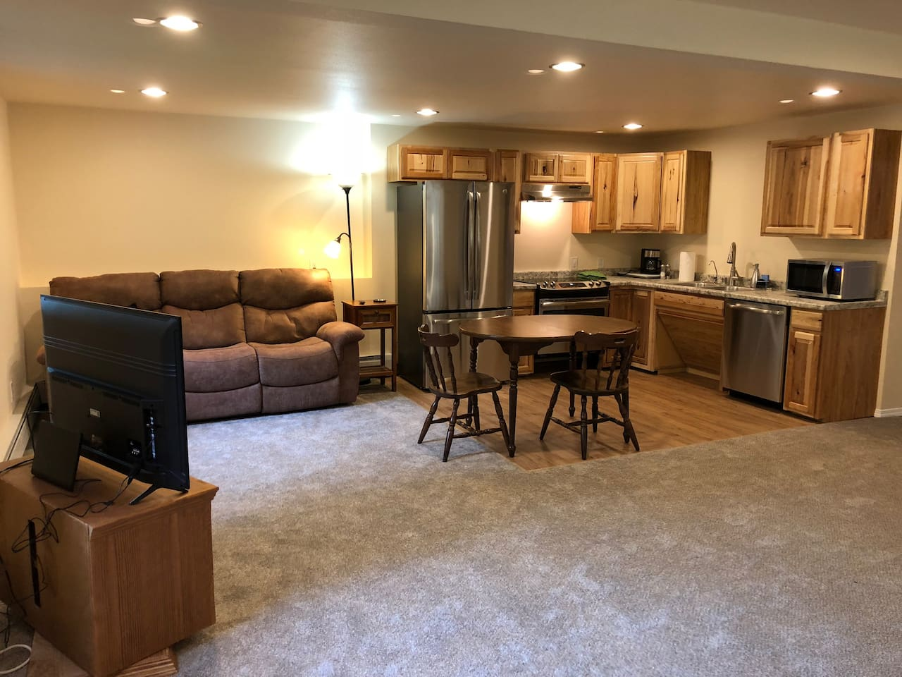 Wheel chair accessible studio with full kitchen
