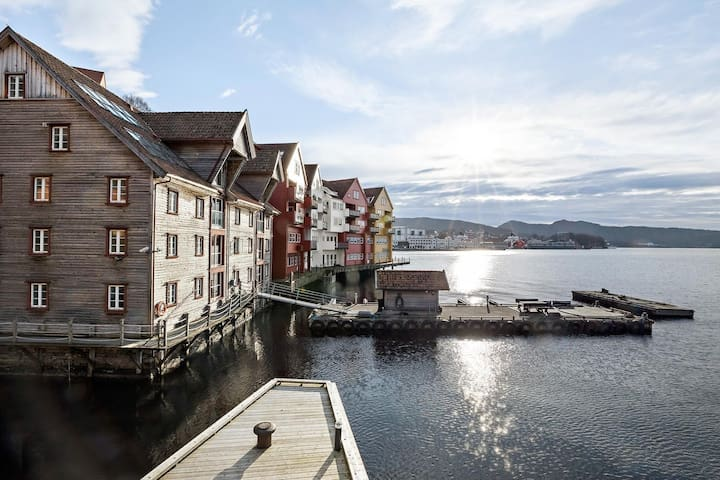 Central & unique studio in historical enviroment - Bergen - Appartamento