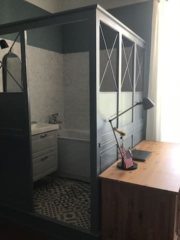 Bedroom #3 with a private bathroom
