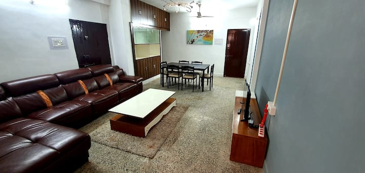 Retreat to a stylish flat in Indore