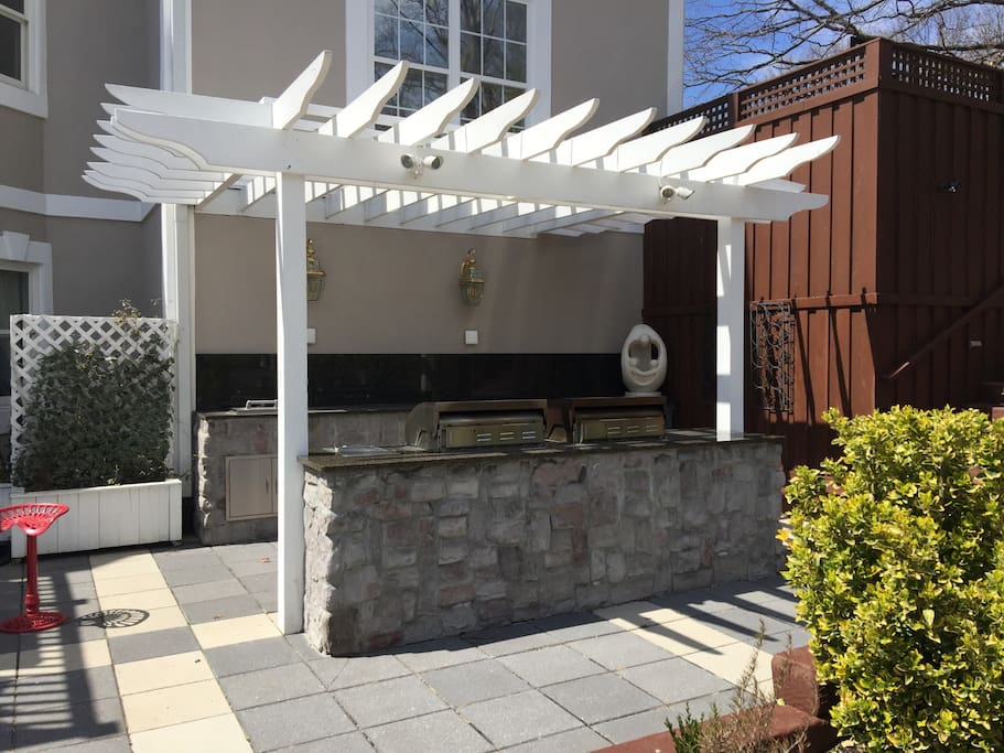 Outdoor Kitchen and BBQ
