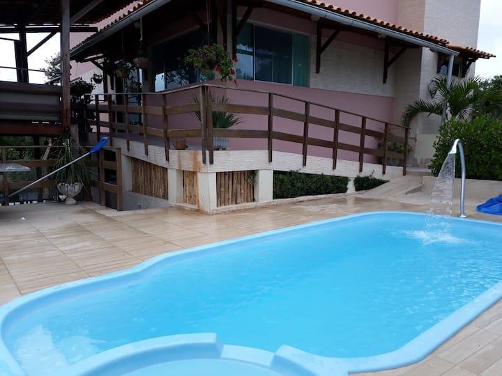 Casa de Campo c piscina aquecida: Flor do Gravatá
