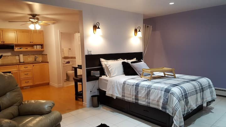 Downtown studio 6 *weekly/monthly stays