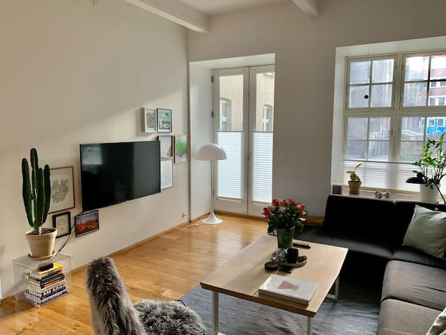 Beautiful Loft Apartment in Trendy Vesterbro