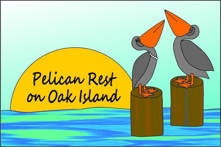 Pelican Rest on Oak Island