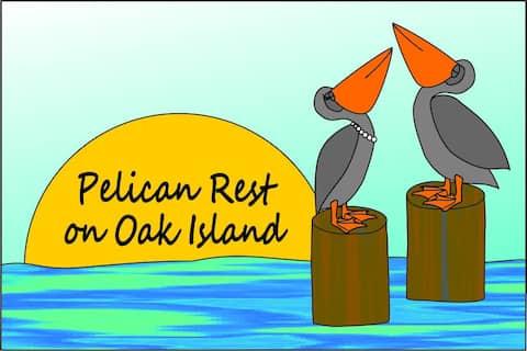 Pelican Rest on Oak Island