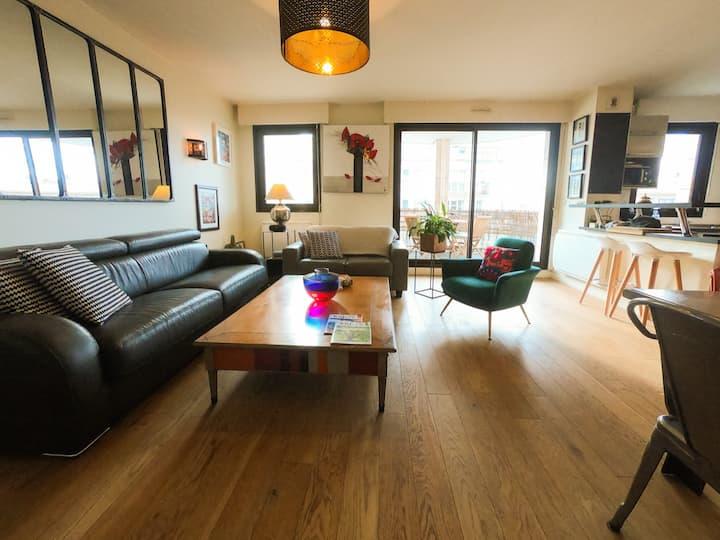 Appartement cosy à Nogent/Marne entre Paris-Disney