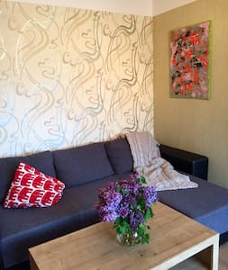 Comfy and calm apartment w parking - Ventspils