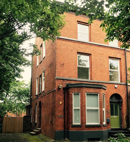 Double/Twin Rooms - Victorian House Manchester - Manchester - House