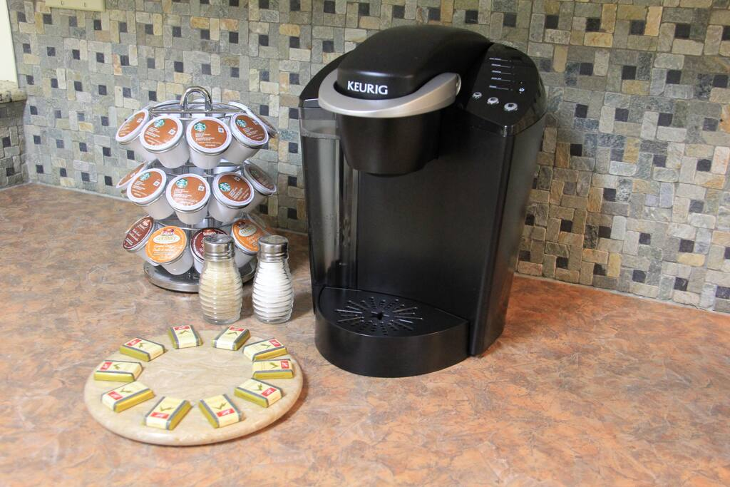 Coffee Station - Enjoy your complimentary morning coffee and chocolate.