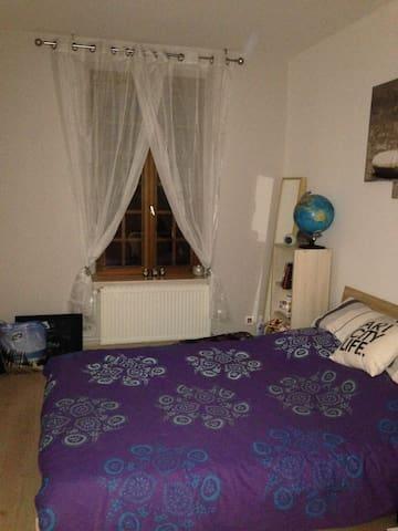 Chambre privée dans maison avec jardin - Crusnes