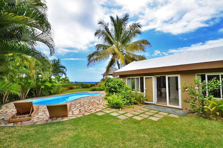 Villa acassia avec piscine privee maisons louer for Campement a louer a maurice avec piscine