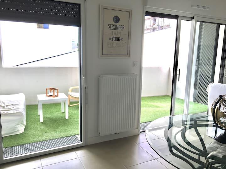 Joli appartement 80 m² à 5 min en tram de Bordeaux