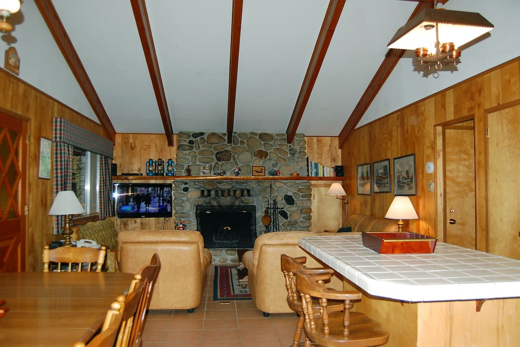 View as you enter the cabin