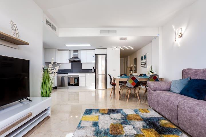 """Пунта прима Апартаменты """" La Recoleta"""" 3 спальни"""