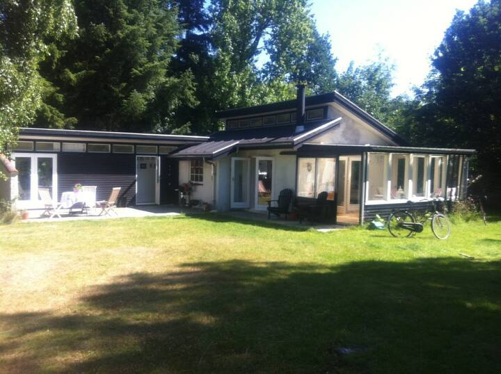 Spacious summer house in Ellinge Lyng
