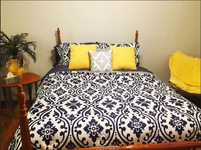 Lower Bed Room with Queen size Bed