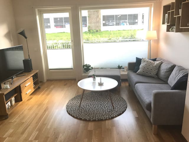 New apartment with 2 bedrooms and parking garage