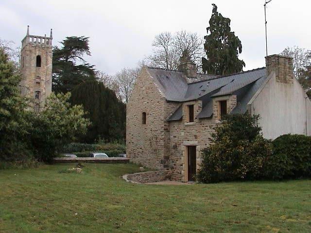 Rosgrand Manor's oven, Quimperlé, Brittany - Rédéné - House