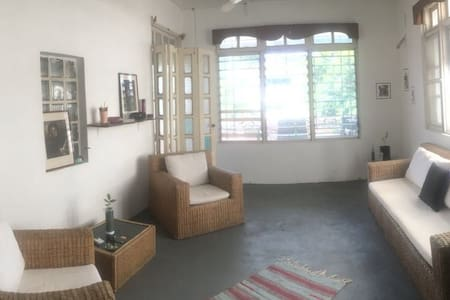 A room in the heart of Accra