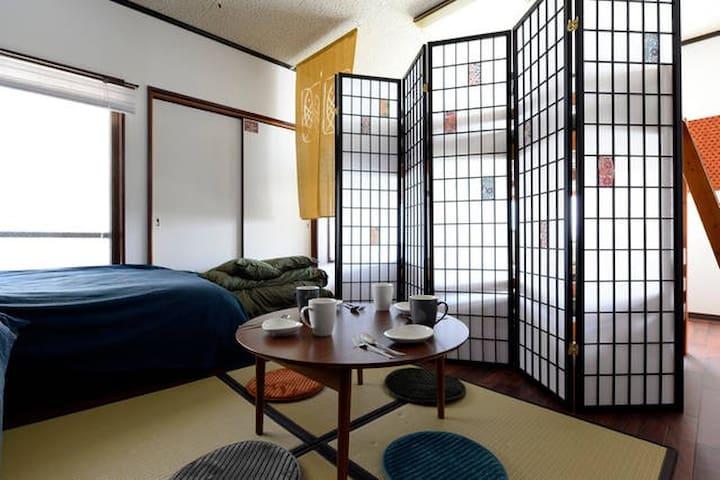 JapaneseModernFlat 8ppl/4minWalkStation - Osaka, Higashiyodogawa-ku - Apartment