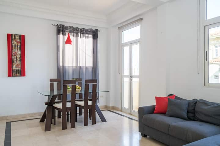 TOP LOCATION! Ocean&Malecon view/WIFI/ 2habs+2wc