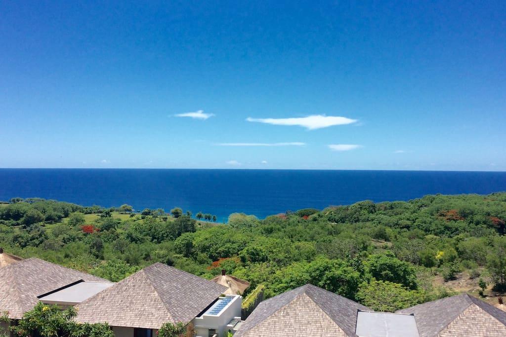 180 degree flawless ocean view