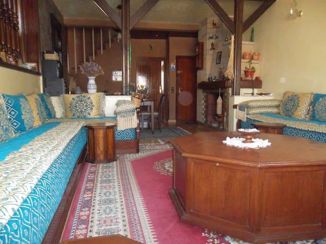 Chambre double privée,au sein d'une famille - Rabat
