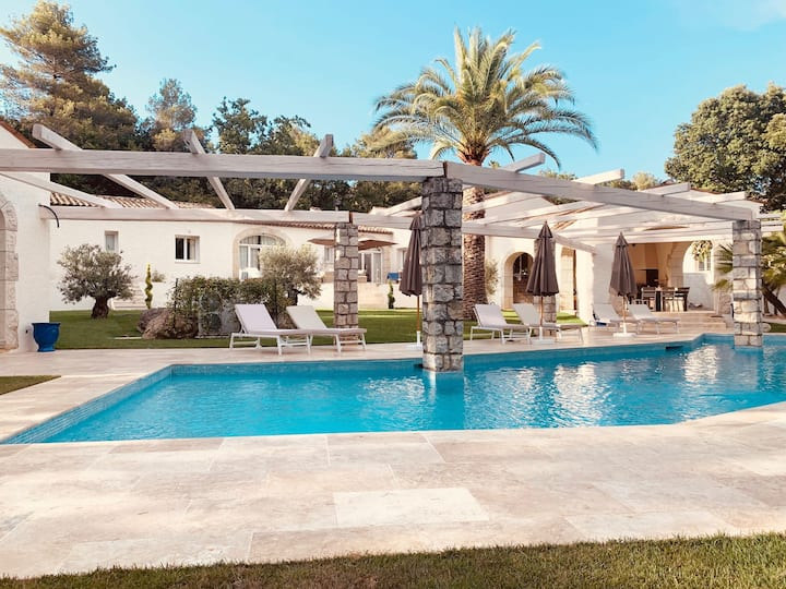 Prestigious villa near Saint Paul de Vence