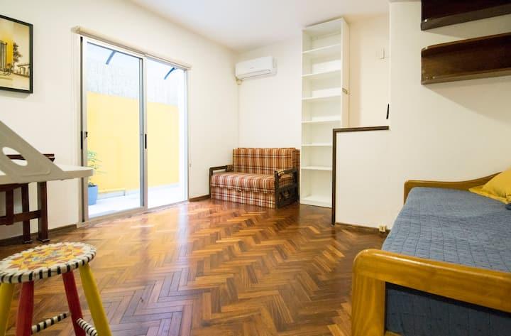 Apartamento en barrio Palermo