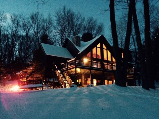 Loon Lodge on Long Lake, Washburn County WI