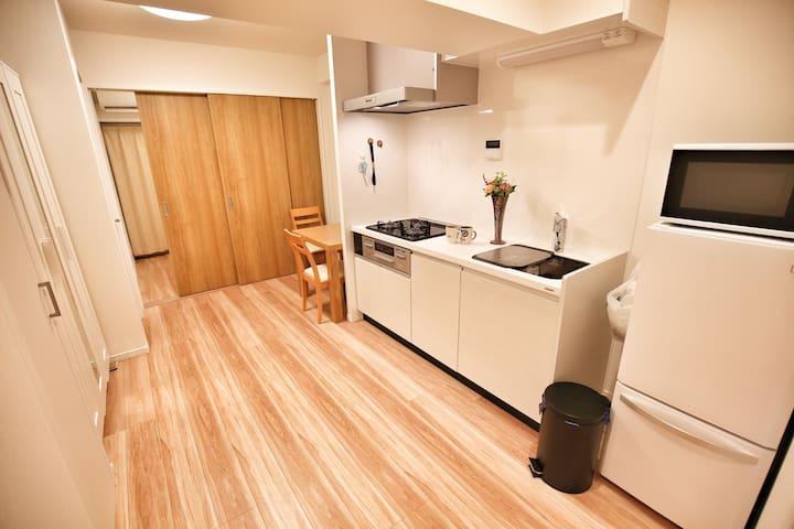 Ueno上野单间房入谷地下铁旁 ,现代设计公寓 - Taito - Квартира