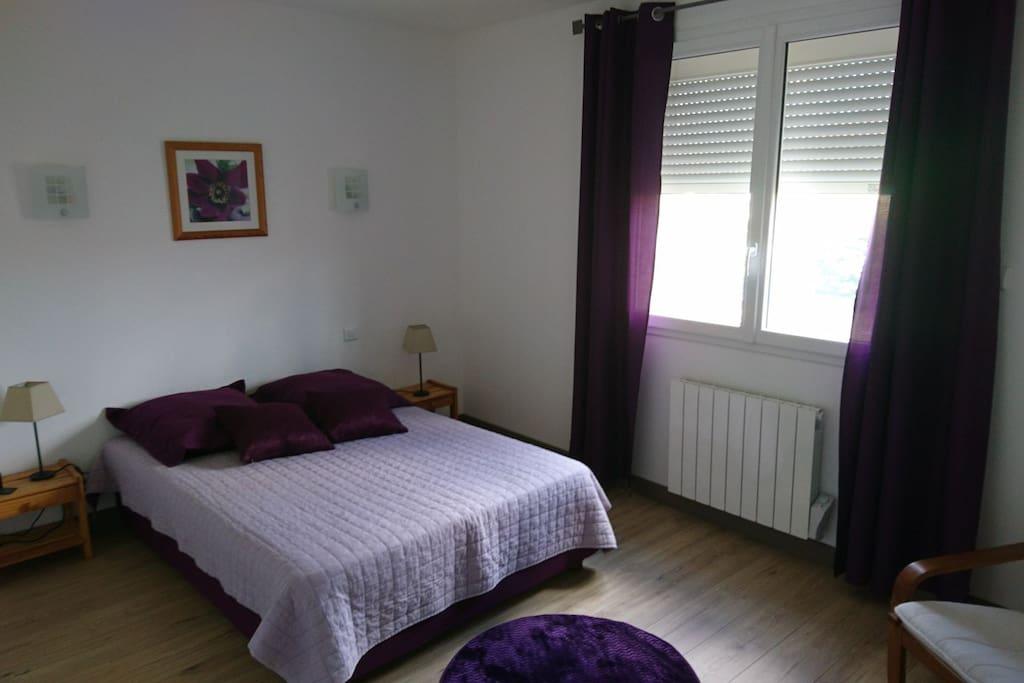 Chambre de la Violette