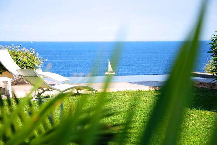 Villa avec piscine & vue mer 180° - Sari-Solenzara - Dom