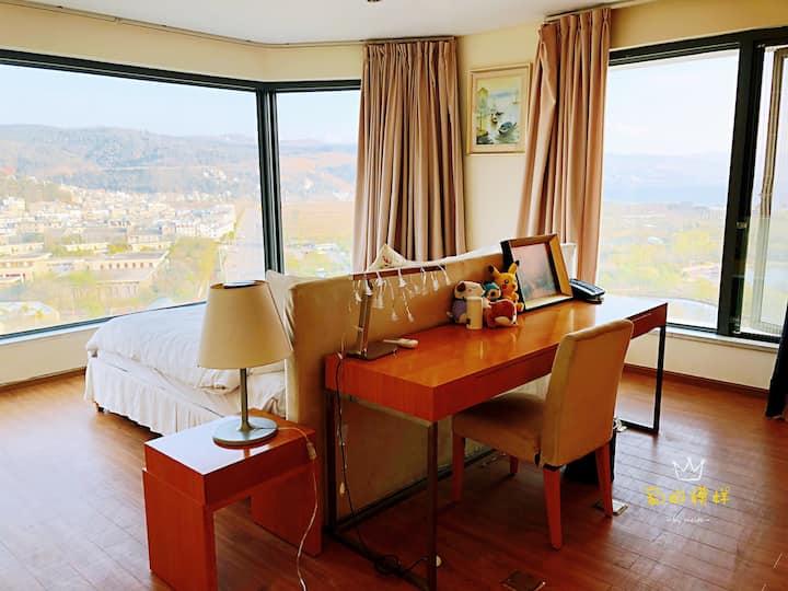 [琉璃]国内小众度假圣地抚仙湖阳光沙滩180度景观公寓