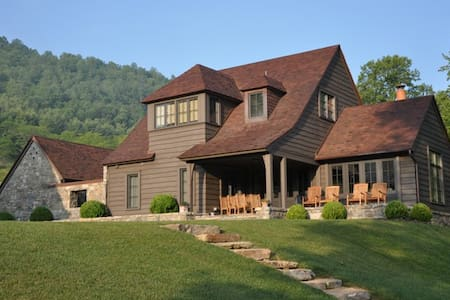 Luxury Cottage-Riverfront,Fly-Fishing,Trout Pond - Canton