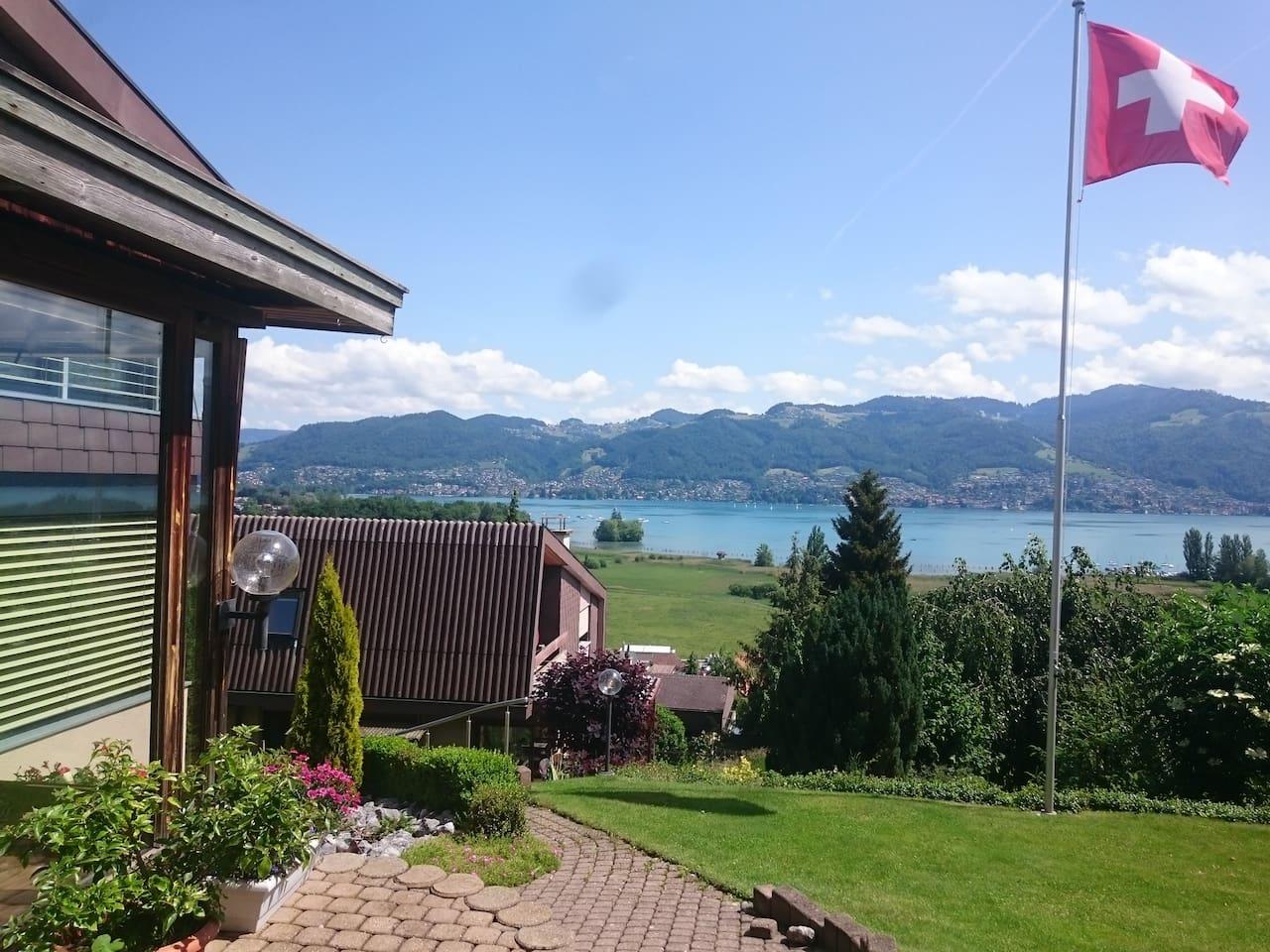 Blick von Terrasse/ views from the terrace