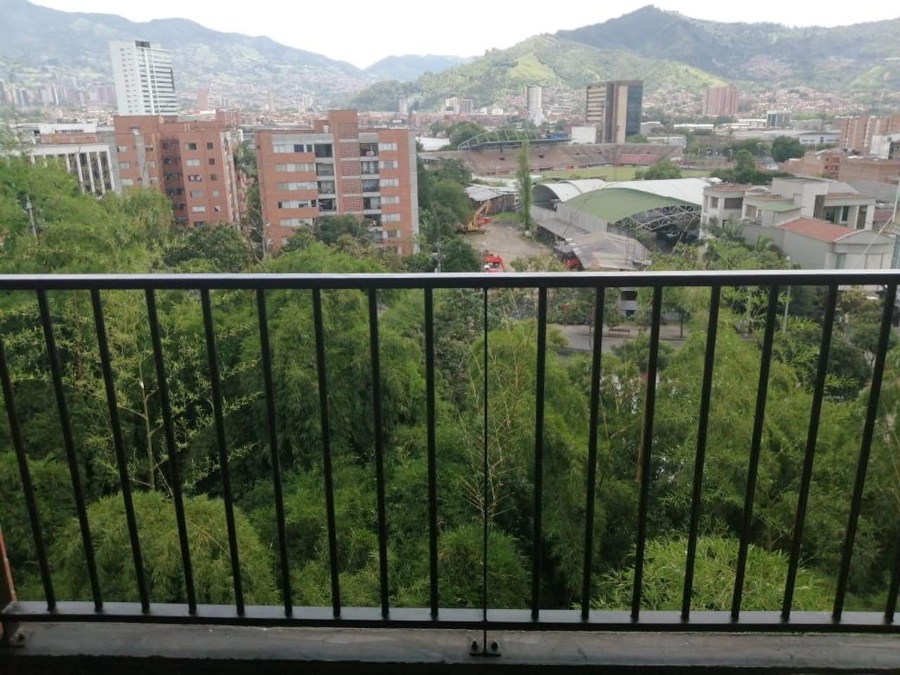 Balcony with view to the Envigado Soccer Stadium