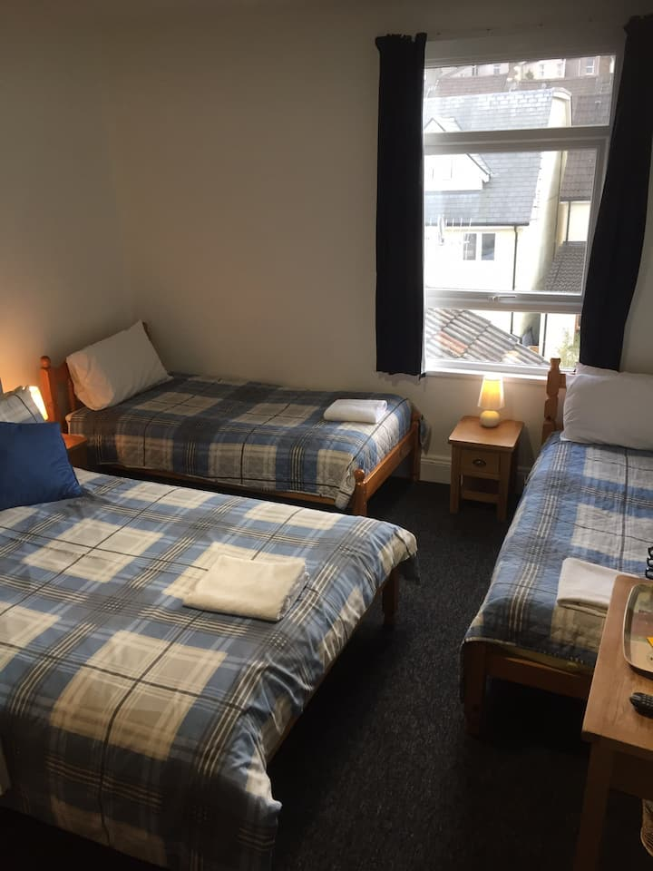 Four person newly refurbished en suite room