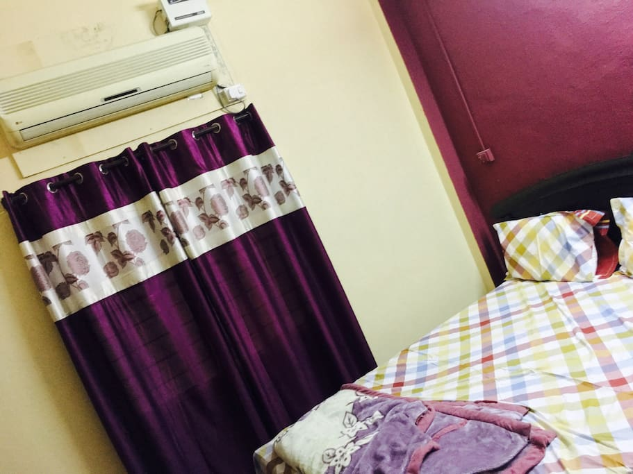 Double bedroom with Ac and attached washroom