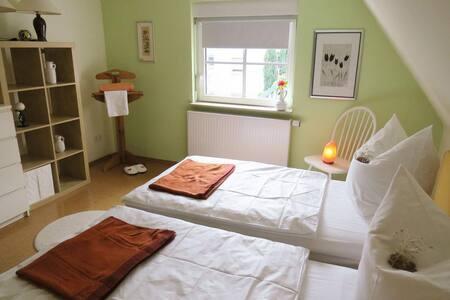 Öko Haus Namaste - Doppeltbettzimmer - Oberasbach - บ้าน