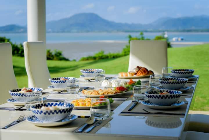 VILLA SHOOWA CAPE YAMU一线海景庄园级奢华别墅带管家女佣送早餐