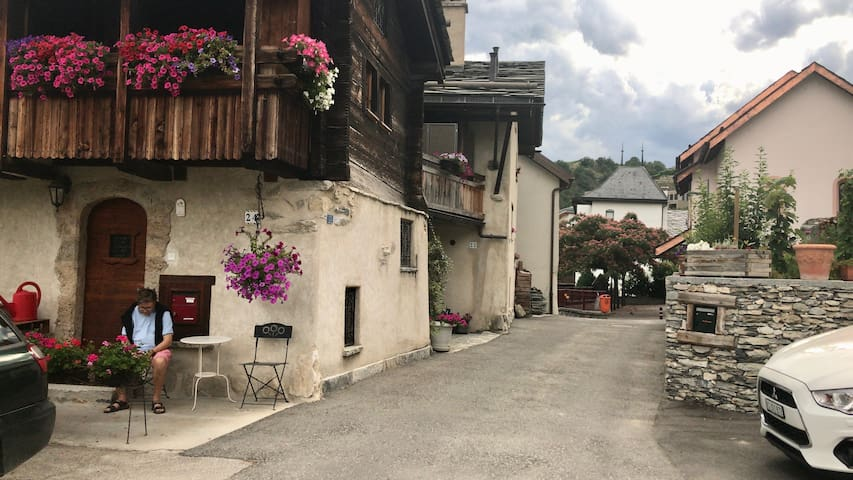 Chalet Lalyres, Valais