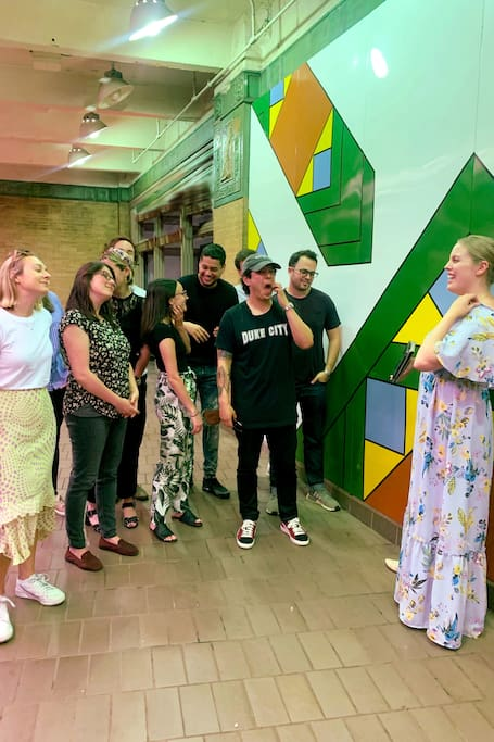 뉴욕의 지하 미술관 투어