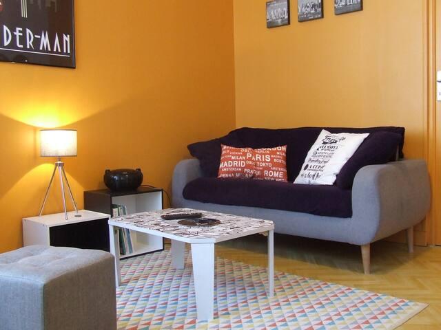 Guingamp. Appartement lumineux et tout confort.