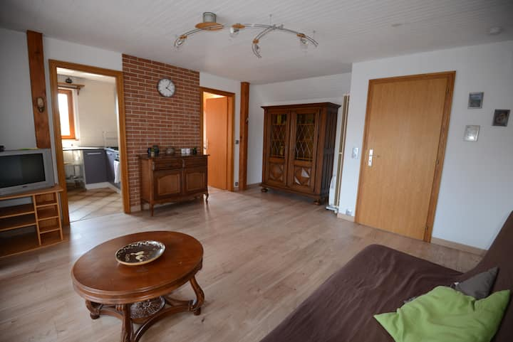 Appartement alsacien pour 2 (à 4) pers. de 60m2