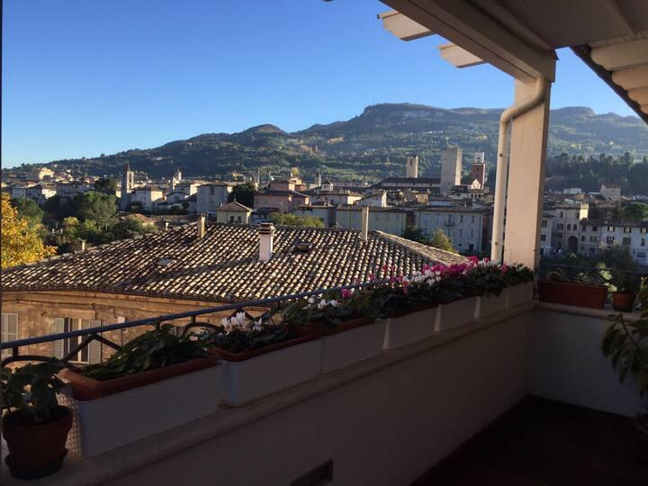 Luxury flat - historic Ascoli view