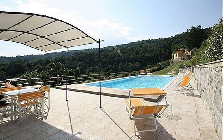 Villa Mario near Florence, Tuscany - Villa di Sopra - House